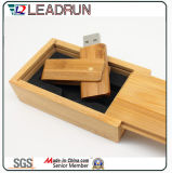 Wooden Bamboo USB Memory Stick Memory Drive Key Disk Box (YLH203)