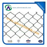 사슬 Link Fence (PVC 입히는과 Galvanized)