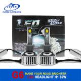 Farol rápido 8-48V do diodo emissor de luz do poder superior H1 do transporte para o farol do diodo emissor de luz do golfe 6