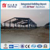 Полуфабрикат легкие устанавливают здание стальной структуры
