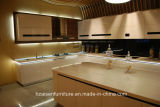 New Simpe Kitchen Furniture Lacquer Glossy Kitchen Cabinet Design moderno