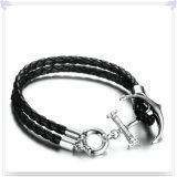 De Armband van het Leer van de Juwelen van het Leer van de Juwelen van de manier (LB316)