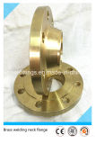 ASME/DIN/JIS forjou flanges do bronze de Wnrf