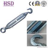 接続のための商業可鍛性鉄のターンバックルを投げる索具のハードウェア