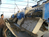 탈수하는 모래 찌끼를 위한 고주파 선형 진동 탈수 스크린