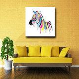 Peinture directe de la décoration 100%Handmade d'usine sur la toile
