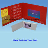 2.4inch affissione a cristalli liquidi Screen Video Name Card