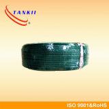 De groene witte groene kabelK type teflonisolatie van de thermokoppelkabel