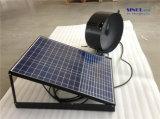 12inch 15Wの25W 9.6ah電池システム(SN2013014)が付いている太陽切り妻のファン