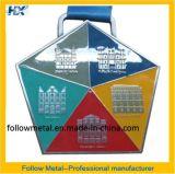 Medaille mit fünf Palances Herausforderungs-Firmenzeichen 2014 28