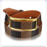 De Armband van het Leer van de Juwelen van het Leer van de Juwelen van het roestvrij staal (LB306)