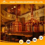 高品質の赤い銅商業用クラフトビール醸造物システム