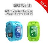 Reloj del perseguidor del GPS de los cabritos con el seguimiento verdadero de la correspondencia (H3)