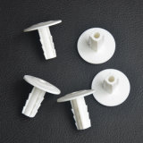 KoaxialCable Wall Bushing Single in White