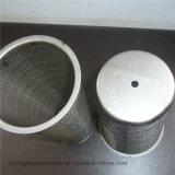 Cilindro tejido del filtro de acoplamiento de alambre de acero inoxidable