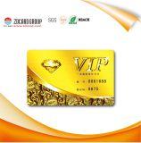 Cartão do plástico do cartão Cr80 de Megnetic VIP RFID da qualidade superior