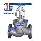 Válvula de globo del borde de Pueumatic del acero inoxidable de API/DIN
