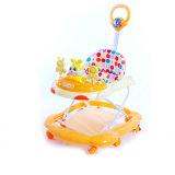 Baby-Wanderer-Spaziergänger mit Spielzeug-, Musik-und Stoss-Griff