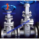 Válvula de porta industrial do aço inoxidável da cunha da flange de API/DIN