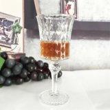 cubilete de cristal del modelo del diamante de 150ml 170ml 200ml para la consumición de cristal de la taza del vino