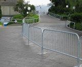 Горячий окунутый гальванизированный барьер управлением толпы