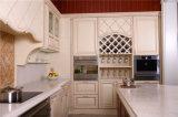 Welbom klassischer eleganter hölzerner Lack-modulare Küche-Schränke 2016 mit Insel