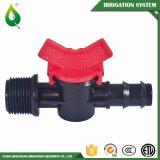 Práctica de campo riego, riego de plástico válvula de compuerta de PVC