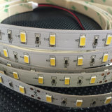 SMD impermeable 5630 tira multicolora de la luz de la flexión LED de 60 LED