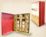 Caixa de presente feita sob encomenda do Saco-Estilo para petróleos verde-oliva