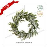 16 Decoratie van Kerstmis van de Kroon van het Huis van de Producten van de duim de Plastic Kunstmatige