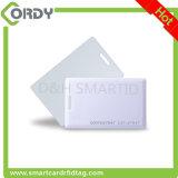 Le bloc supérieur de MANGUE carde 125kHz avec la carte épaisse d'IDENTIFICATION RF estampée par numéro de série