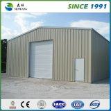 Structure métallique de modèle de la construction ISO9001 pour l'entrepôt