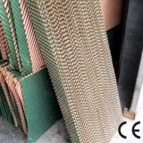 蜂蜜の櫛の空気クーラーの冷却のセルパッドは/空気クーラーのためのセルロースの蒸気化冷却のパッドを波形を付けた