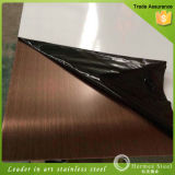 Balck Haarstrichende-Edelstahl-Blätter hergestellt in China