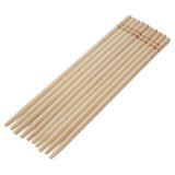 La madera de abedul enclavija la bandera postes de los pinchos de los palillos