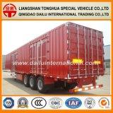 Semirimorchio della casella di trasporto di carico del rimorchio del Gooseneck Van Type Truck