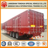 Schlussteil-Ladung-Transport-Kasten-Sattelschlepper GooseneckVan Type Truck
