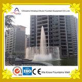 Fontana di acqua del cerchio del raggruppamento della villa per la decorazione