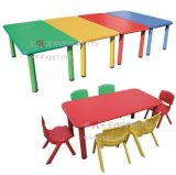 Wooden Kid Study Table Designs、SchoolのためのChairのChildren Student Deskの新式
