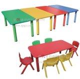Estilo novo de projetos de madeira da tabela do estudo do miúdo, mesa do estudante das crianças com a cadeira para a escola