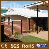 Fornecedor de madeira composto da cerca da tela WPC de China para o mercado de Austrália