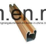 Profil en aluminium des graines en bois pour Windows et la porte, anodisation, polissant
