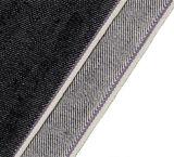 черной ткань покрашенная хлопчатобумажной пряжей сплетенная 10331 джинсыов 100 качества 12.8oz