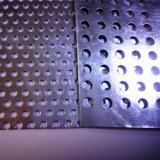 1 M X 2 M, 1.5mm dick galvanisiertes perforiertes Blech mit 2 mm-Loch-u. 4 mm-Loch-Abstand