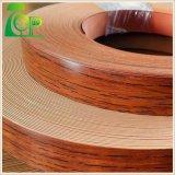bordure foncée solide des graines/configurations PVC de couleur de qualité de 0.5mm/en bois pour des meubles