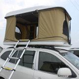 Шатер верхней части крыши автомобиля стеклоткани раковины корабля трудный белый