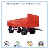 40t 트랙터-트레일러, 화물 수송기를 위한 반 측벽 트레일러