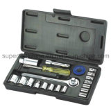 "21 Dr. Socket Set de PCS 1/4 "" et 3/8 """