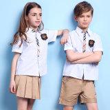 Поставщик контакта я буду конструкцией начальной школы Unifrom Shirt&Shorts качества Awayhigh равномерной