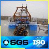 Professioneller hydraulischer Fluss-Sand-Scherblock-Absaugung-Bagger